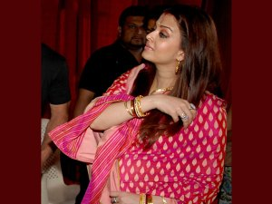 Bollywood beauty Aishwarya Rai Bachchan was lucky enough to have two baby showers!