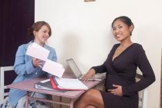 Febe in the Emma Dress - Midweek Mini: office baby shower