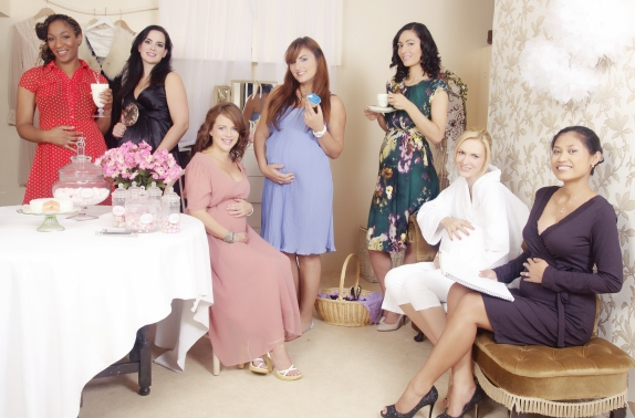 Our models looking stunning at the Betty Blythe Pantry