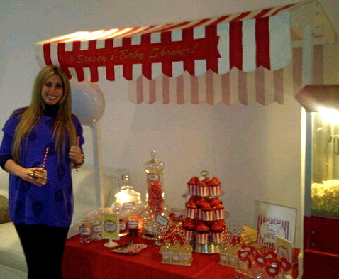 Stacey Solomon's Girls Playground Baby Shower by Before Baby