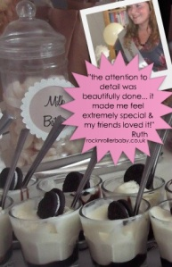 Expert Blogger Ruth loved our Cookies and Cream shower