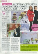 Our Mother's Day full-page feature in the Daily Mirror Magazine