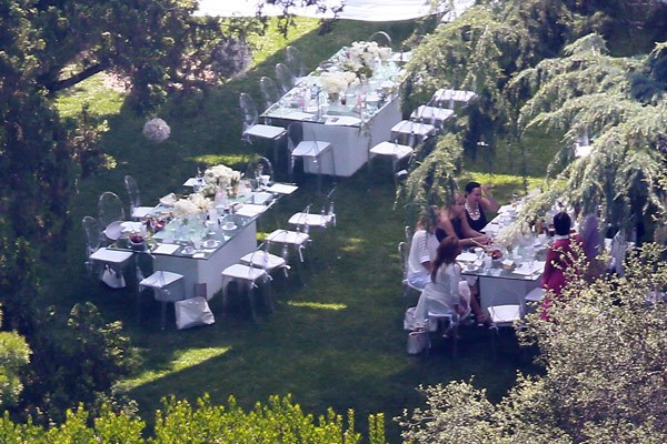 Garden Party Baby Shower For Kim Kardashian Before Baby